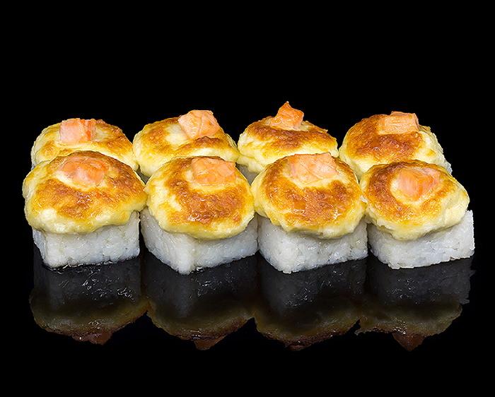 Роллы Запеченный медовый лосось
